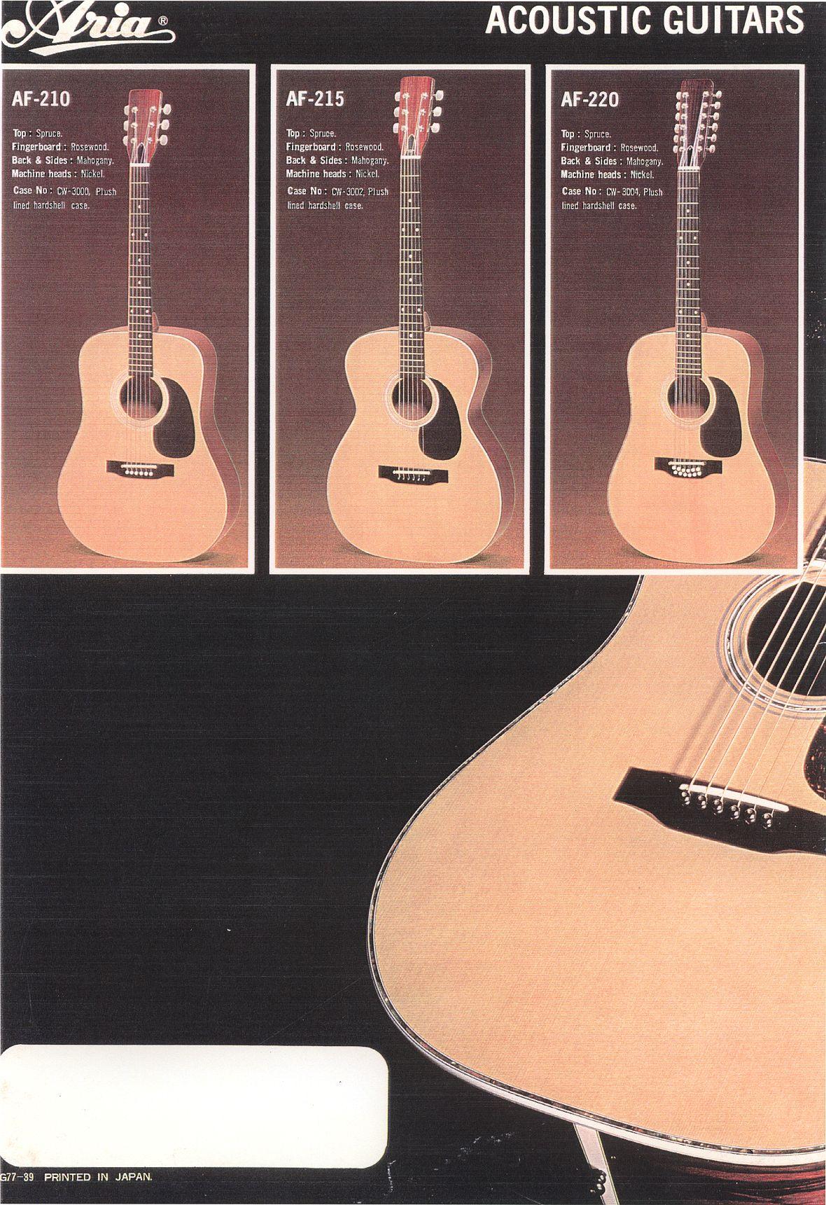 aria acoustics pg1